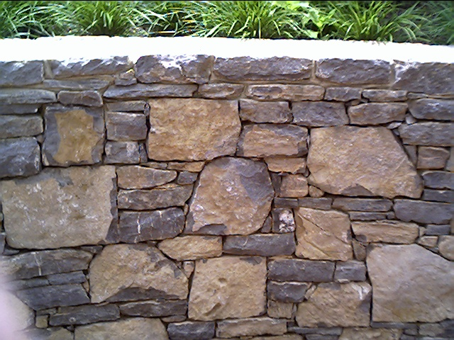 Stone Wall in the Missing Octave Garden Gala